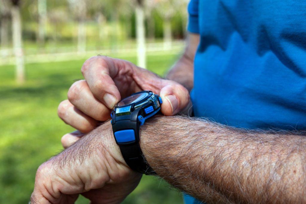 smartwatch met bloeddrukmeter
